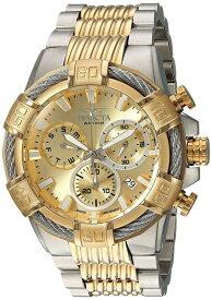 インビクタ Invicta インヴィクタ 男性用 腕時計 メンズ ウォッチ ボルト bolt ゴールド 25864 【並行輸入品】