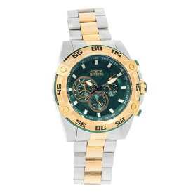 インビクタ Invicta インヴィクタ 男性用 腕時計 メンズ ウォッチ クロノグラフ グリーン 25539 送料無料 【並行輸入品】