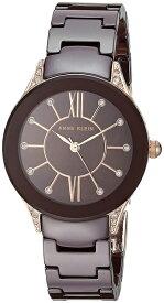 アンクライン Anne Klein 女性用 腕時計 レディース ウォッチ ブラウン AK/2388RGBN 女性らしいデザイン かわいい 送料無料 【並行輸入品】