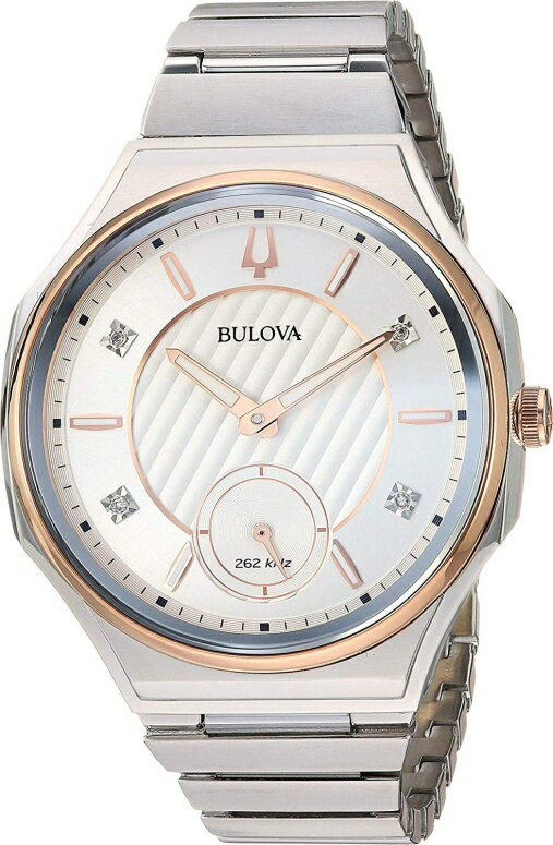 ブローバ Bulova 女性用 腕時計 レディース ウォッチ ローズ 98P182 送料無料 【並行輸入品】