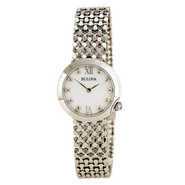 ブローバ Bulova 女性用 腕時計 レディース ウォッチ ホワイト 96P163 送料無料 【並行輸入品】