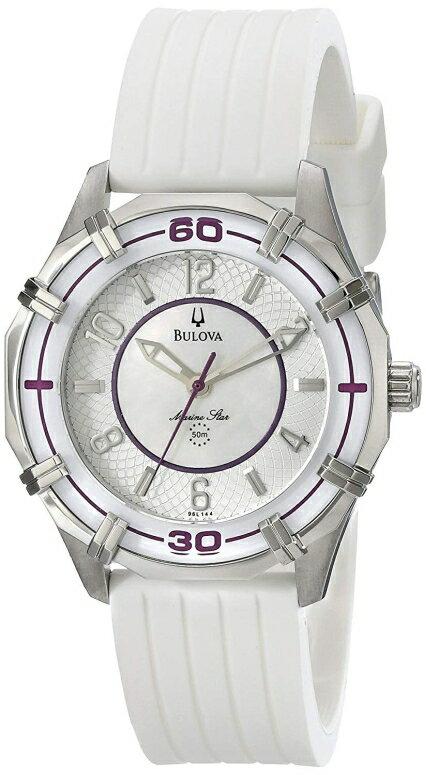ブローバ Bulova 女性用 腕時計 レディース ウォッチ パール 96L144 送料無料 【並行輸入品】