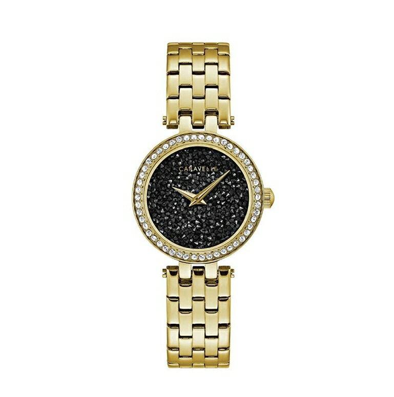 ブローバ Bulova 女性用 腕時計 レディース ウォッチ ブラック 44L243 送料無料 【並行輸入品】