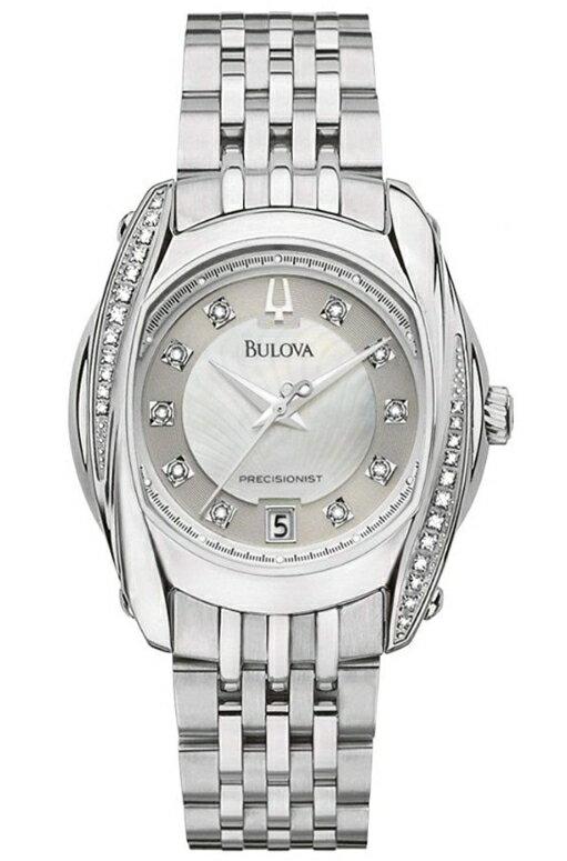 ブローバ Bulova 女性用 腕時計 レディース ウォッチ シルバー 96R141 送料無料 【並行輸入品】