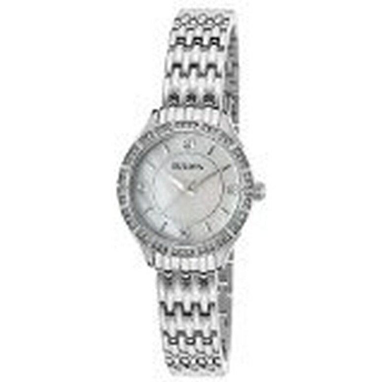 ブローバ Bulova 女性用 腕時計 レディース ウォッチ ホワイト 96X133 送料無料 【並行輸入品】
