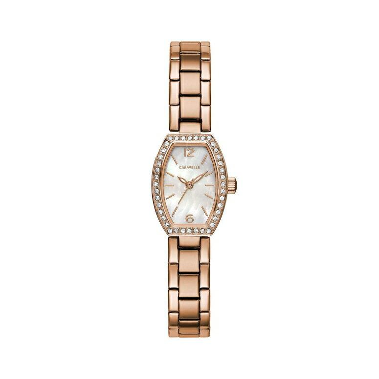 ブローバ Bulova 女性用 腕時計 レディース ウォッチ パール 44L242 送料無料 【並行輸入品】