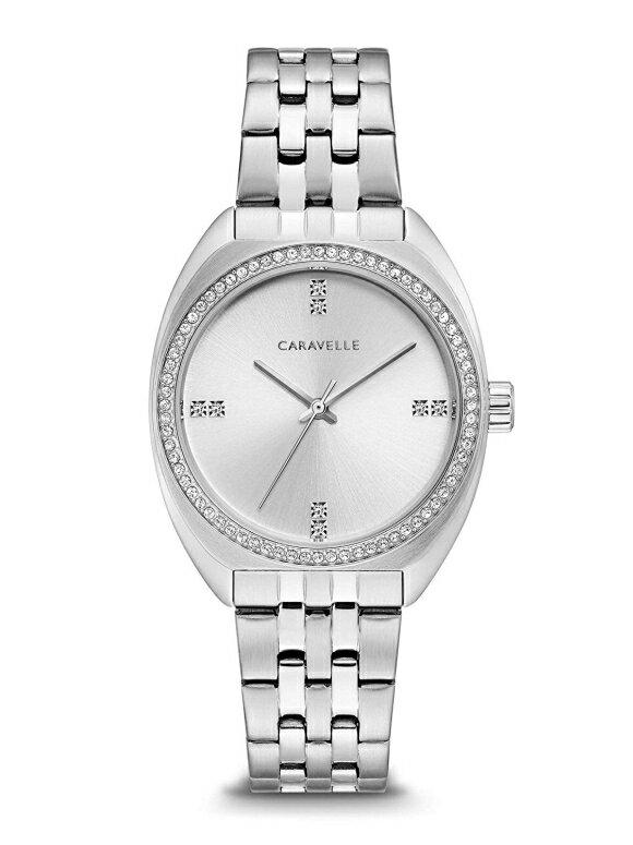 ブローバ Bulova 女性用 腕時計 レディース ウォッチ シルバー 43L214 送料無料 【並行輸入品】