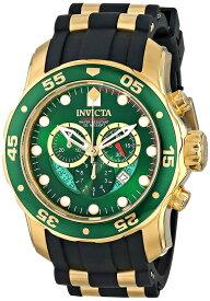 インビクタ Invicta インヴィクタ 男性用 腕時計 メンズ ウォッチ クロノグラフ グリーン 6984 送料無料 【並行輸入品】