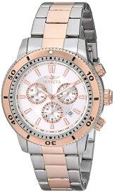 インビクタ Invicta インヴィクタ 男性用 腕時計 メンズ ウォッチ クロノグラフ シルバー 1204 送料無料 【並行輸入品】