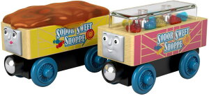 トーマス 木製レール きかんしゃ キャンディーカー Thomas & Friends Fisher-Price Wood, Candy Cars 送料無料 【並行輸入品】