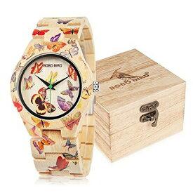 c8245047f6 ボボバード BOBO BIRD ウッドウォッチ 木製腕時計 女性用 腕時計 レディース ウォッチ ホワイト AM076 送料無料