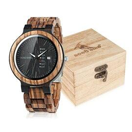 ボボバードBOBOBIRD男性用腕時計メンズウォッチブラックFO26-2送料無料