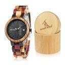 ボボバード BOBO BIRD ウッドウォッチ 木製腕時計 男女兼用 腕時計 ユニセックス ウォッチ クロノグラフ ブラック p14…
