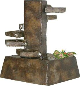 卓上 噴水 滝のオブジェ テーブルトップファウンテン インテリア噴水 Alpine TT8000 Tiered Stone Eternity Tabletop Fountain 卓上噴水 インテリア 室内 ファウンテン ミニ噴水 滝 卓上ファウンテン 送料無