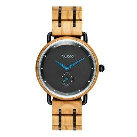 トゥルーウッド truwood ウッドウォッチ 木製腕時計 男性用 腕時計 メンズ ウォッチ ブラック 3060412401151 送料無料 【並行輸入品】