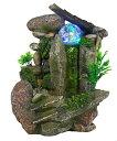 卓上 噴水 滝のオブジェ テーブルトップファウンテン インテリア噴水 Tabletop Fountain Indoor Fountain Waterfall N…