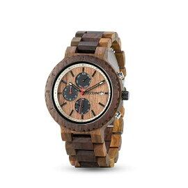 ウッドミーWOODMEウッドウォッチ木製腕時計男性用腕時計メンズウォッチクロノグラフブラウンR21送料無料【並行輸入品】