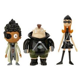 フィニアスとファーブ フィギュア Phineas and Ferb Figure Pack Assortment 5 - DCOM Candace, Baljeet, Beauford (Resistance Team) 送料無料 【並行輸入品】