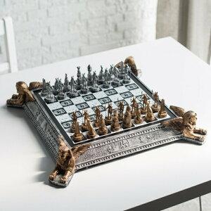 チェスセット ギフト エジプト風 Egyptian Chess Set 送料無料 【並行輸入品】