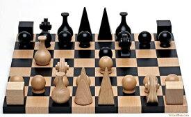 チェスセット ギフト Wood Chess Set By Man Ray Re-edition of 1920 送料無料 【並行輸入品】