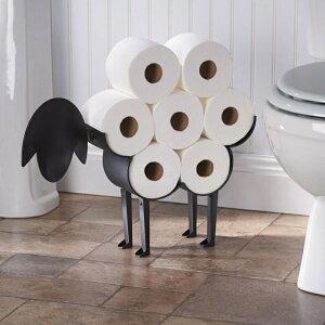 トイレットペーパーホルダー ストッカー ART & ARTIFACT Sheep Toilet Paper Roll Holder 7 Rolls おしゃれ 北欧 インテリア ペーパーホルダー トイレットペーパー スタンド トイレ収納 トイレラック スタイ