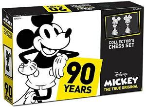 ディズニーミッキーマウス 90周年 クラシック チェスセット USAOPOLY Mickey The True Original Chess Set 90th Anniversary | Collectable Piece Figures Set | 32 Custom Scuplt Pieces | Classic Disney Mickey Mouse Characters 送料無料