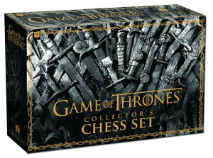 ゲームオブスローンズ チェスセット USAOPOLY Game of Thrones Collector's Chess Set | Collectible 32 Custom Sculpt Chess Pieces HBO Game of Thrones TV Characters 送料無料 【並行輸入品】