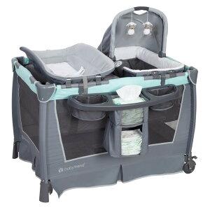 ベビーベッド 成長に会わせて使い分け プレイヤード Baby Trend Retreat Nursery Center 送料無料 【並行輸入品】