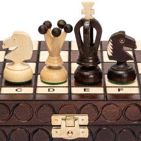 チェスセット Husaria European International Chess Wooden Game Set - King's - 11.3-Inch 送料無料 【並行輸入品】