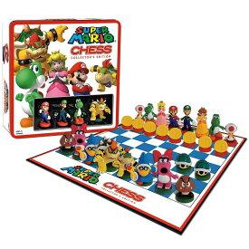 チェスセット USAOPOLY Super Mario Chess Collectors Edition 送料無料 【並行輸入品】