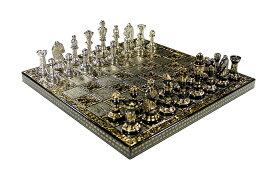 チェスセット Guruji Divinity Collectible Premium Metal Brass Chess Board Game Set Brass Chess Pieces Men stored in Velvet Storage Box. (12 X 12 in)… 送料無料 【並行輸入品】