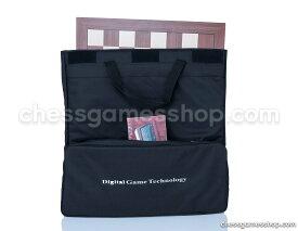 チェスセット DGT Chess Carrying Bag BLACK for board, pieces, clock and accessories - suitable for e-boards or GO game to - BLACK 送料無料 【並行輸入品】