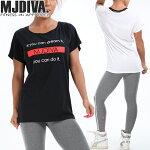 MJDIVA◆BOXロゴBIGシルエットTEE
