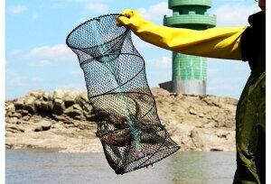 魚取網 漁網 アウトドア 漁具 アナゴ 折り畳み式 魚捕り網 ウナギ お魚キラー タコ エビ カニ 小魚 仕掛け かご キャンプ用 軽量