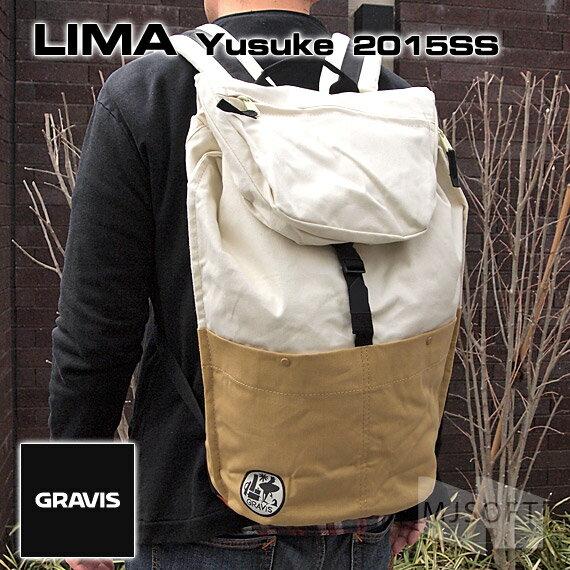 【ポイント10倍】グラビス リマ ユースケ GRAVIS 15SS LIMA Yusuke (MacBook Pro13〜15インチ対応)【ギフト】【プレゼント】【あす楽対応】【デイパック】【リュック】【レディース】【メンズ】
