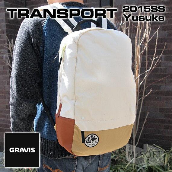 【ポイント10倍】グラビス トランスポート ユースケ GRAVIS 15SS TRANSPORT Yusuke (MacBook Pro13〜15インチ対応)【ギフト】【プレゼント】【あす楽対応】【デイパック】【リュック】【レディース】【メンズ】