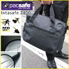 Pacsafe Internet safe Z400 CHARCOAL (25160104) MacBook Pro 15-inch support 2-WAY bag theft prevention with P25Apr15
