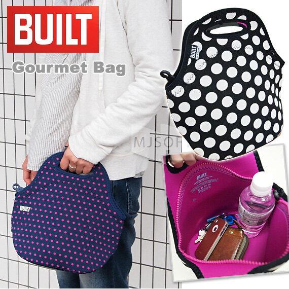 BUILT NY Gourmet Bag ゴウメットバッグ(グルメバッグ)ランチバッグ ネオプレーン 超軽量【あす楽対応】【ギフト】【プレゼント】【レディース】