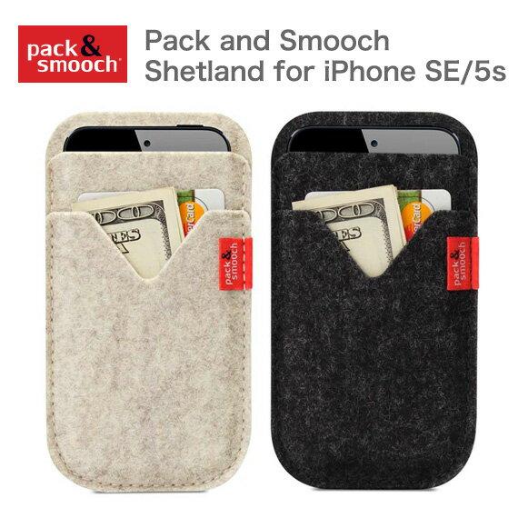 パック アンド スムーチ アイフォンSE ケース シェトランド ドイツ製 ハンドメイド Pack and Smooch Shetland for iPhone SE/ 5s ギフト 【あす楽対応】【ゆうパケット対応】