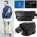 【ポイント10倍! 10/3 09:59まで】 BROSKI and SUPPLY OUTER 2 Leather Messenger Bag ブロスキー アン...