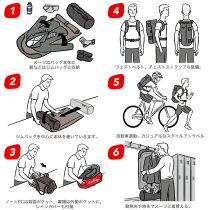 ヘンティーコパイロットバックパックブラック日本正規品HentyCoPilotBackPackSTD(Black)リュックサイクリングジョギングメンズ【あす楽対応】【送料無料】