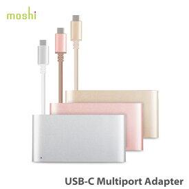 【ポイント10倍】【送料無料(沖縄は+900円)】moshi USB-C Multiport Adapter USB-C用 Thunderbolt 3用 HUB ハブ 3イン1 MacBook 12インチ対応 モシ HDMI出力 4k【あす楽対応】