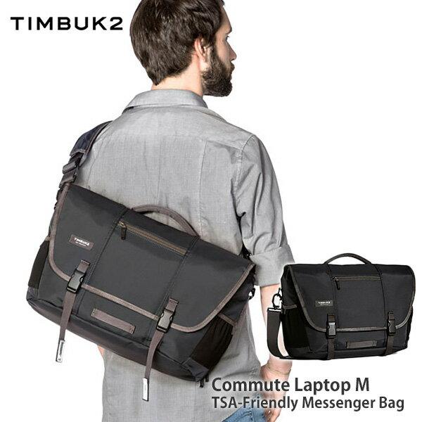 【送料無料(沖縄は+900円)】ティンバックツー コミュートメッセンジャー M ジェットブラック ノートPC 15インチ / iPad対応 出張 TSA対応 TIMBUK2 Commute M JetBlack【あす楽】 父の日