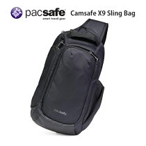 パックセーフPacsafeカムセーフX9スリングバッグ8Lブラック一眼レフカメラ対応11インチ対応iPad対応盗難防止海外旅行推奨