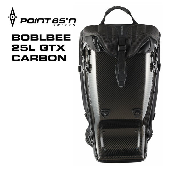 【楽天イーグルス感謝祭 ポイント10倍】【送料無料(沖縄は+900円)】ボブルビー カーボン リュック デイパック 安心の日本正規品 ギフト Point65 BOBLBEE 25L GTX CARBON Black GhostBlack あす楽対応