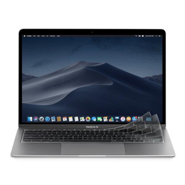 【ポイントP10倍 5/28 09:59まで】moshi Clearguard Air 13 JIS用 US用 EU用 クリアガード MacBook Air 13インチ (Retina Thunderbolt 3/ USB-C インターフェースモデル) ネコポス不可 あす楽対応