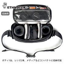 Ethnotekデサフォトスリングポーチベトナム6一眼レフカメラ対応スリングバッグショルダーDesa