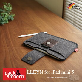 【ポイント10倍! 4 19 09:59まで】 パック アンド スムーチ アイパッドミニ 5用 ケース リーン ドイツ製 ハンドメイド Pack and Smooch Pack&Smooch LLEYN for iPad mini 5