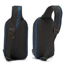 エコ窃盗盗難防止機能海外旅行推奨ワンショルダーバッグiPad対応ポケット付きRFIDPacsafeバイブ325ECOパックセーフECONYL