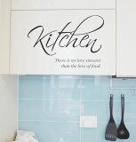 ウォールステッカーキッチンウォールステッカー英字ウォールステッカー北欧Kitchenキッチンウオールステッカー壁紙転写式